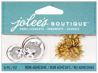Jolee's Boutique Embellishments Celestial Suns and Moons