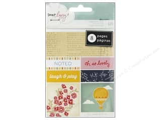American Crafts Stickers Book Lucky Charm Bits