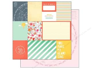 American Crafts Paper 12 x 12 in. Lucky Charm This & That (25 piece)