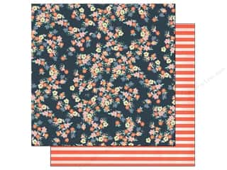 American Crafts 12 x 12 in. Paper Pretty Poppies (25 piece)