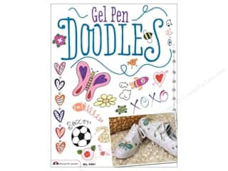 Design Originals Gel Pen Doodles Book by Jennifer Mayer, Holly Witt and Suzanne McNeill