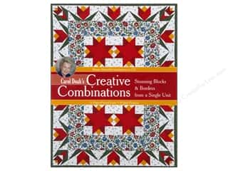 C&T Publishing Carol Doak's Creative Combinations Book by Carol Doak