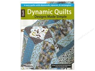 Leisure Arts $6 - $9: Leisure Arts Dynamic Quilts Designs Made Simple Book