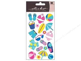 EK Sticko Stickers Polka Dot Beach
