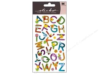 EK Sticko Alphabet Stickers Small Flower