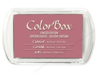 Stamping Ink Pads Clearance Crafts: ColorBox Fluid Chalk Inkpad Full Size Limited Edition Pink Sky