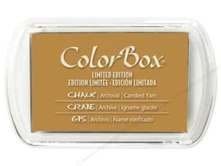 ColorBox Ink, Ink Pads & Brayers: ColorBox Fluid Chalk Ink Pad Full Size Limited Edition Candy Yam