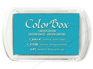 Clearance ColorBox Fluid Chalk Ink Pad Mini Size: ColorBox Fluid Chalk Ink Pad Full Size Limited Edition Arctic Deep