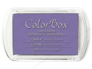 Stamping Ink Pads Clearance Crafts: ColorBox Fluid Chalk Inkpad Full Size Limited Edition Plumeria