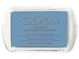 Clearance ColorBox Fluid Chalk Mini Ink Pad: ColorBox Fluid Chalk Ink Pad Full Size Limited Edition Chambray