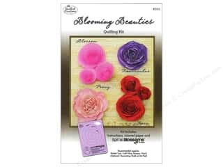 Quilling Kits: Quilled Creations Quilling Kit Blooming Beauties
