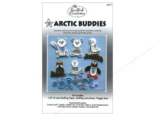 Templates Sizer Templates: Quilled Creations Quilling Kit Arctic Buddies