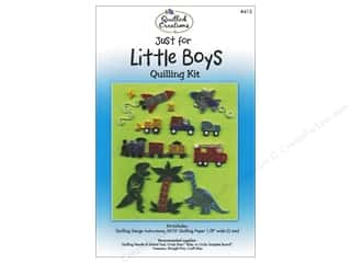 Templates Sizer Templates: Quilled Creations Quilling Kit Just for Little Boys
