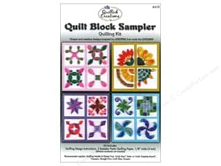 Quilled Creations Brown: Quilled Creations Quilling Kit Quilt Block Sampler