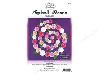 Quilling Kits: Quilled Creations Quilling Kit Spiral Roses Pinks, Ivory, White
