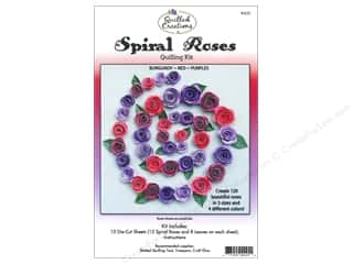 Quilled Creations Quilling Kit Spiral Roses B,R,Pu