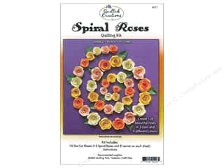 Quilled Creations $2 - $4: Quilled Creations Quilling Kit Spiral Roses Orange, Peach, Yellows