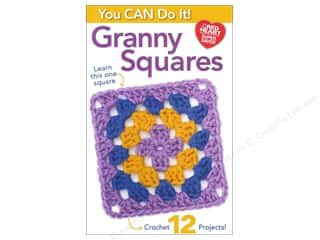 Coats & Clark Books You Can Do It Granny Squares Book