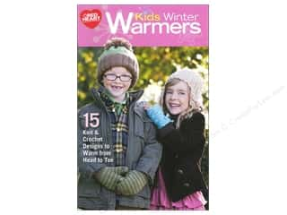 acrylic yarn: Coats & Clark Kids Winter Warmers Book