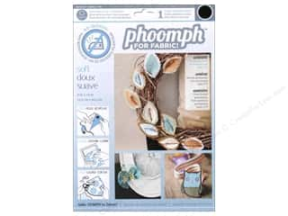 Phoomph For Fabric by Coats and Clark: Phoomph For Fabric Soft 9 x 12 in. Black