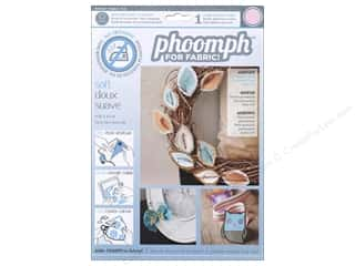 Interfacings Phoomph For Fabric by Coats & Clark: Phoomph For Fabric Soft 9 x 12 in. Pink by Coats & Clark