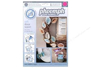 Phoomph For Fabric by Coats and Clark: Phoomph For Fabric Soft 9 x 12 in. Fuchsia