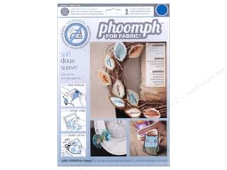 Phoomph For Fabric by Coats and Clark: Phoomph For Fabric Soft 9 x 12 in. Blue
