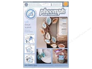Phoomph For Fabric by Coats and Clark: Phoomph For Fabric Soft 9 x 12 in. Orange