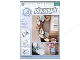 Interfacings Phoomph For Fabric by Coats & Clark: Phoomph For Fabric Soft 9 x 12 in. Green by Coats & Clark