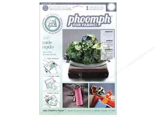 Phoomph For Fabric by Coats and Clark: Phoomph For Fabric Stiff 9 x 12 in. White