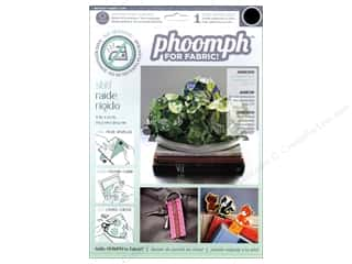 Phoomph For Fabric by Coats and Clark: Phoomph For Fabric Stiff 9 x 12 in. Black