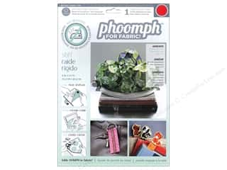 Phoomph For Fabric by Coats and Clark: Phoomph For Fabric Stiff 9 x 12 in. Red
