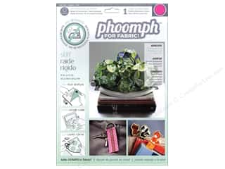 Phoomph For Fabric by Coats and Clark: Phoomph For Fabric Stiff 9 x 12 in. Fuchsia