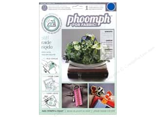 Phoomph For Fabric by Coats and Clark: Phoomph For Fabric Stiff 9 x 12 in. Blue
