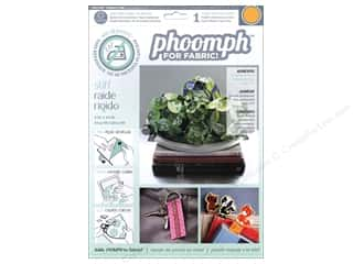Phoomph For Fabric by Coats and Clark: Phoomph For Fabric Stiff 9 x 12 in. Orange