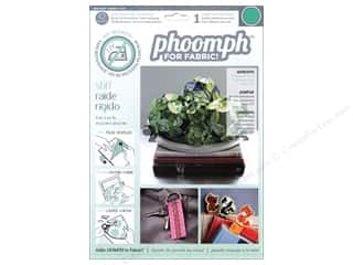 Phoomph For Fabric by Coats and Clark: Phoomph For Fabric Stiff 9 x 12 in. Green