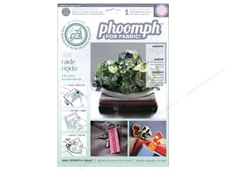 Basic Components Clearance: Phoomph For Fabric Stiff 9 x 12 in. Pink by Coats & Clark