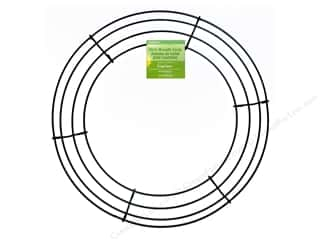 Craft Embellishments Hot: FloraCraft Wire Wreath Form 12 in. Green