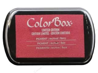 ColorBox Pigment Ink Pad Full Size Berry