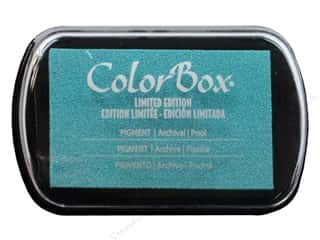 Rubber Stamping ColorBox Full Size Pigment Ink Pads: ColorBox Pigment Inkpad Full Size Limited Edition Pool