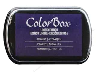 ColorBox Pigment Ink Pad Full Size Limited Edition Iris