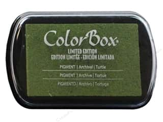 ColorBox Pigment Ink Pad Full Size Turtle