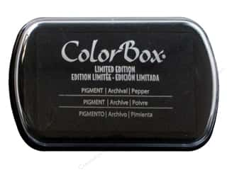 Rubber Stamping ColorBox Full Size Pigment Ink Pads: ColorBox Pigment Inkpad Full Size Limited Edition Pepper