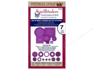 Spellbinders Nestabilities Imperial Gold Circles One