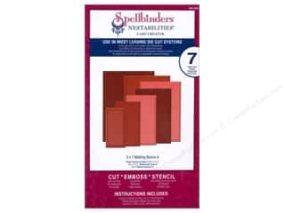 Cutting Mats Basic Components: Spellbinders Nestabilities Card Creator Die 5 x 7 in. Matting Basics A