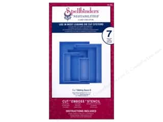 Embossing Aids Hot: Spellbinders Nestabilities Card Creator Die 5 x 7 in. Matting Basics B