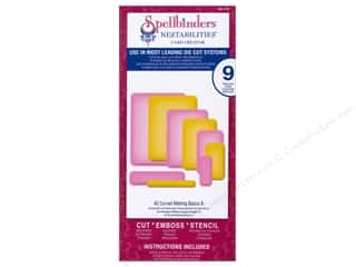 Spellbinders Nestabilities A2 Curved Matting Basics B