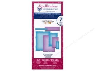 Spellbinders Nestabilities Die A2 Distressed Edges