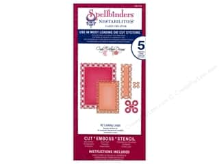 Spellbinders Nestabilities Die A2 Locking Loops
