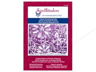 Embossing Aids Clearance Crafts: Spellbinders Embossing Folder M Bossabilities 3D Delightful Daisies